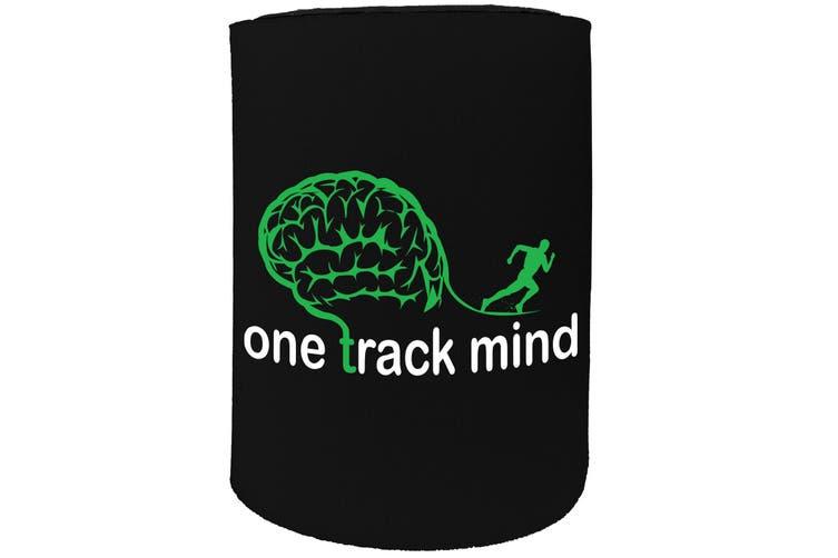 123t Stubby Holder - PB onetrackmind run FITNESS RUNNING - Funny Novelty