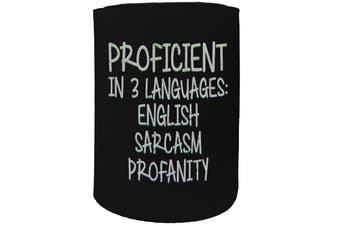 123t Stubby Holder - proficient - Funny Novelty
