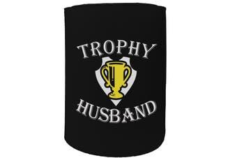123t Stubby Holder - trophy husband - Funny Novelty