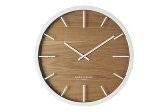 WILLOW 30cm Silent Wall Clock by One Six Eight London