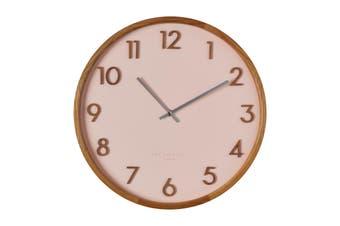 SCARLETT Blush 35cm Silent Wall Clock by One Six Eight London