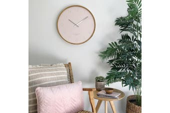 FREYA Blush 35cm Silent Wall Clock by One Six Eight London