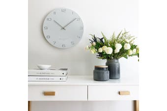BIANCA 60cm Silent Wall Clock by One Six Eight London