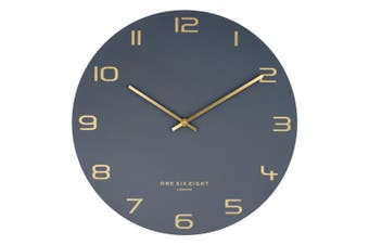 BLAKE 60cm Silent Wall Clock by One Six Eight London
