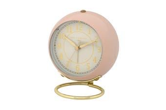ANNA Blush 13cm Silent Alarm Clock by One Six Eight London