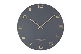 BLAKE 30cm Silent Wall Clock by One Six Eight London