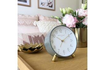 MAISIE Grey Silent Alarm Clock by One Six Eight London