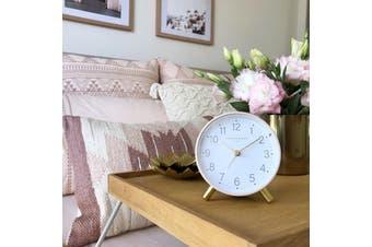 MAISIE Blush Silent Alarm Clock by One Six Eight London