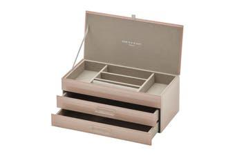 GABRIELLA Blush Large Jewellery Box by One Six Eight London
