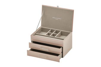 GABRIELLA Blush Medium Jewellery Box by One Six Eight London