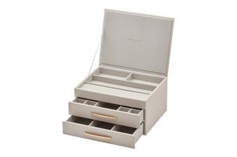 STACEY Soft Blush Large Jewellery Box by One Six Eight London
