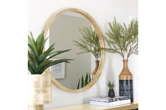 TINA 80cm Light Solid Wood Mirror by One Six Eight London