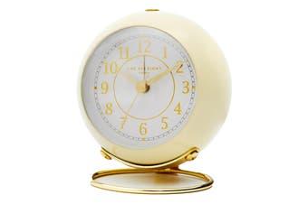 ELIZABETH Cream Silent Alarm Clock by One Six Eight London