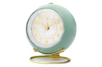 ELIZABETH Sage Silent Alarm Clock by One Six Eight London