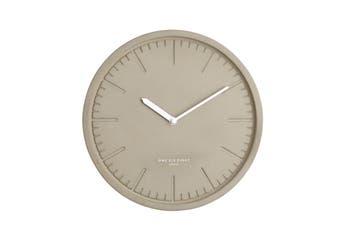 SIMONE Light Grey 30cm Silent Wall Clock by One Six Eight London