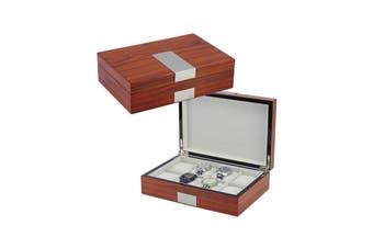 31MADISON Elegant 8 Slot Rosewood Watch Box