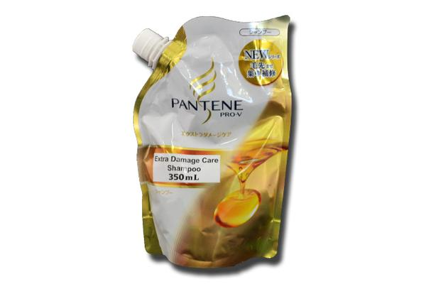 Hair Care - 3x Pantene Extra Damage Care Shampoo 350mL