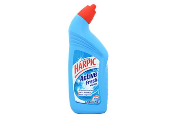 Toilet Cleaners - Harpic Toilet Cleaner Active Fresh Marine 450mL