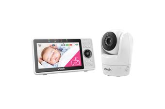 VTech RM5762 Wi-Fi 1080p HD Pan & Tilt Video Monitor Remote Access Temp Sensor