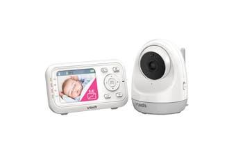 VTech BM3400 Baby Monitor Safe Sound Full Colour Pan Tilt Video Audio Monitor