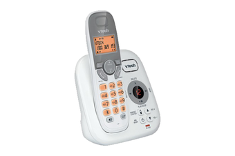 VTech 17250 DECT Single Handset Cordless Phone Answer Machine Handsfree White