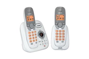 VTech 17250 DECT Twin Handset Cordless Phone Answer Machine Handsfree White