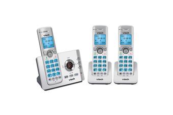 VTech 17550 DECT 6.0 Triple Handset Cordless Phone Handsfree Mobile Connect