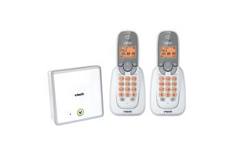 VTech 18050 2-Handset DECT Cordless Phone White