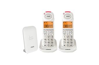 VTech 18450 CareLine 2-Handset DECT6.0 Cordless Phone VSmart Home Monitoring