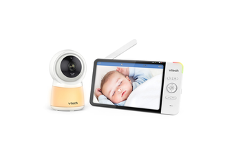 """VTech RM7754HD 7"""" Smart Wi-Fi HD Video Monitor with Remote Access Motion Detect"""