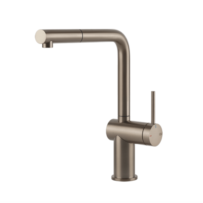 Inedito Pull Out Kitchen Mixer Brushed Nickel Inedito Pull Out Kitchen Mixer Brushed Nickel  Pull Out: Yes  WELS Rating: 5 Star 5.0L/min  WELS Registration Number: T37479  Max Operating Pressure: 500KPA