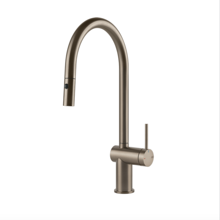 Inedito Pull Out Dual Function Kitchen Mixer Brush Inedito Pull Out Dual Function Kitchen Mixer Brushed Nickel  Pull Out: Yes  WELS Rating: 5 Star 5.0L/min  WELS Registration Number: T37480  Max Operating Pressure: 500KPA