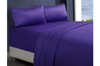 1000TC Egyptian Cotton Sheet Set (Violet)