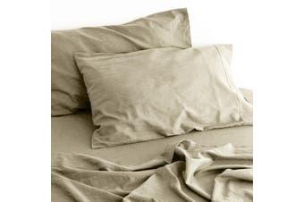 Linen Cotton Sheet Set (Natural)