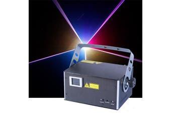 CR Laser Fine 7 RGB 1W Laser 20k Scanning Auto Sound DMX ILDA with keyboard
