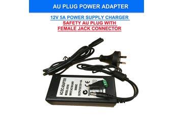 AU Plug DC 12V 5A 60W Power Supply Charger Adaptor Transformer LED Strip Adaptor