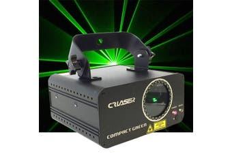CR Laser Compact Green 100mW Laser Disco Light Auto Sound DMX Control come with Remote