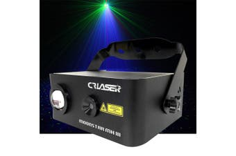 CR Laser Compact Moonstar RGB Laser with 150mW Red 50mW Green 5W Blue LED effect light