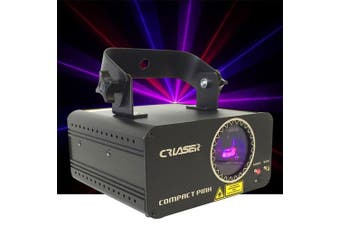 CR Laser Compact Pink 250mW Laser Disco Light Auto Sound DMX Control come with Remote