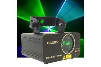 CR Laser Compact Cyan 150mW Laser Disco Light Auto Sound DMX Control come with Remote