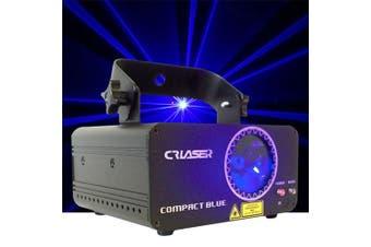CR Laser Compact Blue 500mW Laser Disco Light Auto Sound DMX Control come with Remote