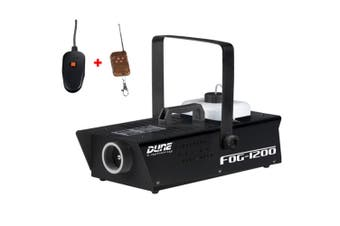 DL 1200w Fog Smokee Machine with Wired and Wireless Remote Control