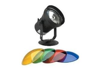 CR Lite Pinspot Pack with 4 color gel Lamp and Stand for Mirror Ball
