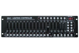 E-Lektron C-384C DMX controller lighting control desk 24x16 total 384 channels