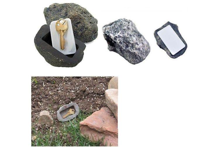 Key Hider Hideaway Artificial Fake Rock