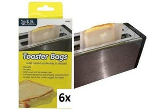 Toast Bag Reusable Toaster Sandwich Bags Baking Pouch Toasty Toastie Pockets