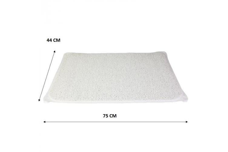 2 x Shower Rug Bathmat Non-Slip Mat