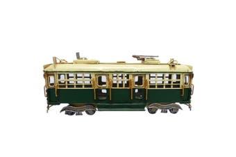 Melbourne City Toorak Tram Train replica Model Handmade Rail Tin 28cm