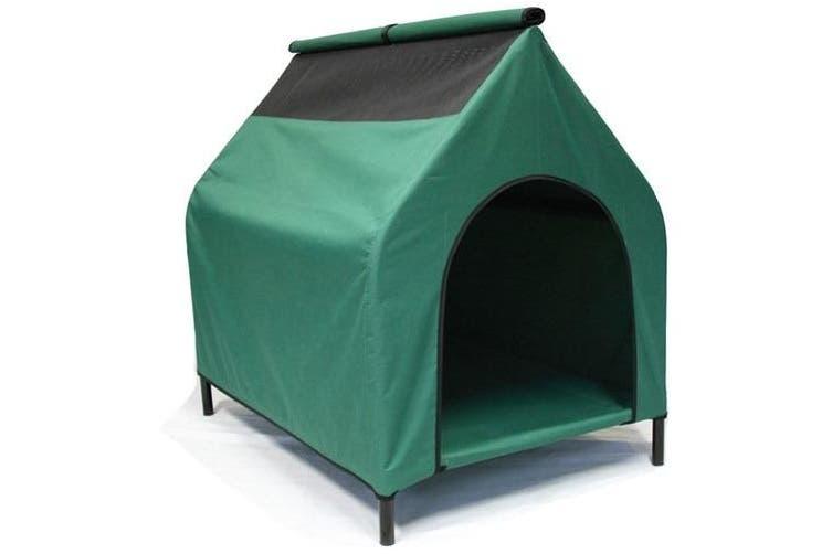 Medium Elevated Waterproof Pet Dog Kennel House