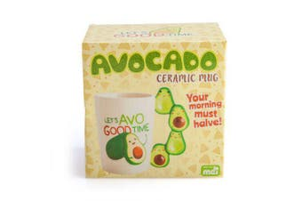 Novelty Cute Avocado Lovers Coffee Mug Tea Cup